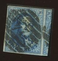 20c Sans Filigrane Bien Marqué Et TRES Grand Voisin - 1858-1862 Medaglioni (9/12)