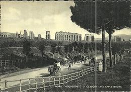 ( ROME )( ATTELAGE )'( TRANSPORT ) AQUEDUC DE CLAUDE SUR LA VIA APPIA NUEVA - Transports