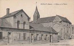 Oeuilly (Aisne) - L'église Et La Mairie - France