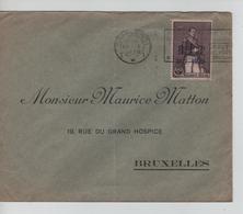 CBPN189/ TP 305 S/L; C.méc.Charleroi 29/10/1930 > Bruxelles Durée D'utilisation 55 Jours !!! - Briefe U. Dokumente
