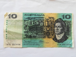 AUSTRALIA 10 DOLLARS 1985 - Decimal Government Issues 1966-...