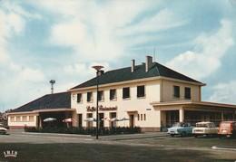 CPSM  67 HAGUENAU NOUVELLE GARE S.N.C.F. - Haguenau
