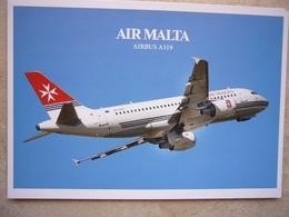 Avion / Airplane / AIR MALTA / Airbus A319 / Airline Issue - 1946-....: Ere Moderne