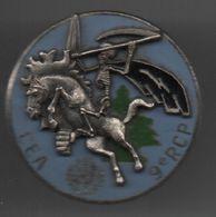 Insigne De Poitrine (pucelle) 9° RCP CEA Opex FINUL, Chasseurs Para...BT16 - Armée De L'air