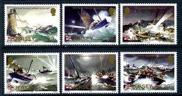 Jersey 1984 RNLI Lifeboats Centenary Set Of 6, MNH, SG 334/9 - Jersey