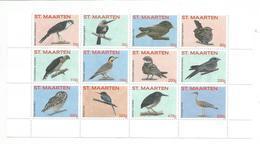 2015 St. Maarten Birds Complete Set Of 12 MNH @ 75% Of Face  **BARGAIN!!!!*** - Oiseaux