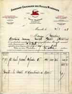 13.MARSEILLE.STANDARD CAUCASSIEN DES HUILES MINERALES 30 BOULEVARD D'ATHENE.(P.J ) - Automovilismo