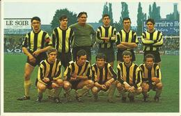 Football -- FC Tournai  -  (Belgique)     (2 Scans) - Soccer