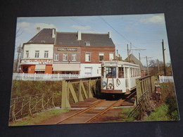 Belgique  België  ( 2645 )   Rixensart  1964   Tram électrique  Tramway - Rixensart