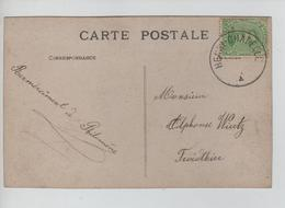 CBPN192/ TP 137 S/CP Fantaisie Langage Du Timbre 'Semeuse' C.Fortune Henri-Chapelle > Froidthier - Fortune (1919)