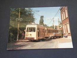 Belgique  België  ( 2646 )   Lobbes   Tram électrique  Tramway - Lobbes