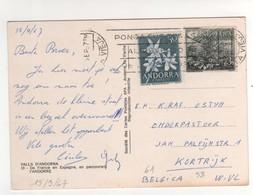 Beaux Timbres , Stamps  Yvert N° 58 , 61 Sur Cp , Carte , Postcard Du  15/09/1967 - Lettres & Documents