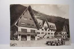 CAUTERETS   - Colonie De Vacances Ambroise  CROIZAT Du Comité D'Etablissement  D'Alshom ( Pas De Reflet Sur L'original ) - Cauterets