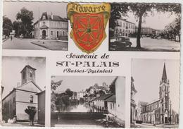 Pyrénées  Atlantique : SAINT  PALAIS  : Vue   , 1954 - Francia