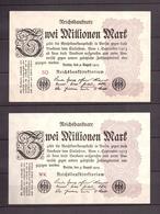 Deutsches Reich, 2 * 2 Millionen Mark 1923, Ro. 103 A - 1918-1933: Weimarer Republik