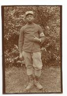 Photographie Soldat Noir Infirmier Antoine Assard 37 Colonial 23 Cie 2e Sect. 7 Escoud. Secteur 148 -1916 Photo 6x8,5 Cm - Guerre, Militaire