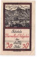 Österreich Austria Notgeld 30 HELLER FS384Ic HOFGASTEIN /196M/ - Autriche