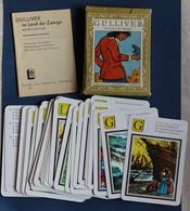 Jeu De Cartes Vintage Gulliver Im Land Der Zwerge 1985 Peterkarte Quartettspiel Les Voyages De Gulliver - Autres Collections