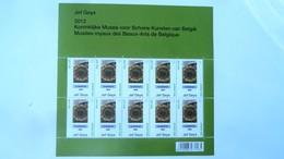 F 4242** – Neuf – 2012 -  Emission A L'occasion D'une Exposition Rétrospective Du L'œuvre De Jef Geys  – - Feuilles Complètes