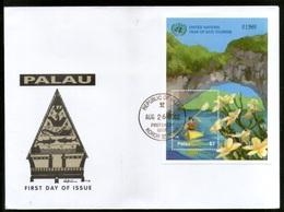 Palau 2002 International Year Of Eco Tourism Sc 690 M/s FDC # 9419 - Holidays & Tourism