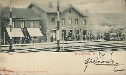 Luxembourg  -  Ettelbruck , La Gare  -  No. 4  Chr.Krantz , Photographe , Ettelbruck - 2 Scans - Cartes Postales