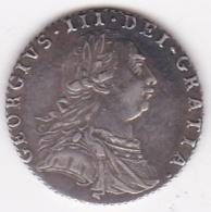 Grande Bretagne. 6 Pence 1787, George III. Argent. KM# 606.1. Sup/XF - G. 6 Pence