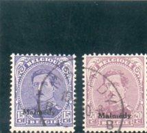 MALMEDY 1920 O - Besetzungen 1914-18