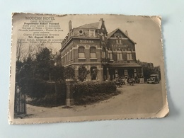 Carte Postale Ancienne  MODERN HOTEL GARE RIXENSART  Propriétaire Robert Pierrard - Rixensart