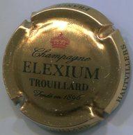 CJ-CAPSULE-CHAMPAGNE TROUILLARD N°09 Cuvée ELEXIUM Fond Or - Autres