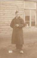 Soldat Militaire Belge Camp Soltau Cachet Censure Photo Carte - War, Military