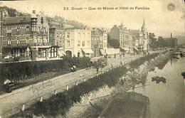 CPA - Belgique - Dinant - Quai De Meuse Et Hôtel De Familles - Dinant
