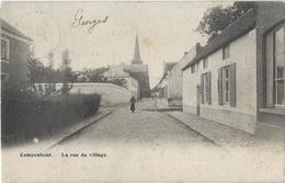 Campenhout.   -   La Rue Du Village.    -    Diest  1905  Naar   Gand - Kampenhout