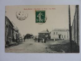 80 Somme Mailly Maillet Rue Sorel Vue Nord Les Halles - France