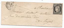 - SEINE - PASSY Les PARIS - Grille Noire S/TPND Type Ceres N°3a+Càd T.15 - 1850 - 1849-1850 Cérès