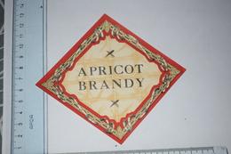 Etiquette Apricot Brandy - Etichette