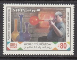 2014 Syria Tourism Glassblowing Art Complete Set Of 1 MNH - Syrien