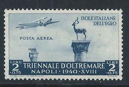 Egée - Emissions Générales YT PA 50 XX / MNH Aviation - Africa Oriental Italiana