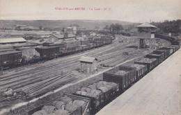 VERDUN SUR MEUSE  LA GARE TRAIN CHEMINS DE FER  PRIX FIXE - Verdun