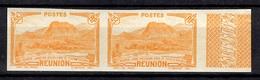 Réunion Maury N° 158 En Paire Non Dentelés Neufs ** MNH. TB. A Saisir! - Réunion (1852-1975)