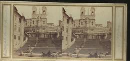 Carte Stereo  Rome Escalier De La Trinite Desmond - Altri Monumenti, Edifici