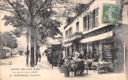 21 - CPA  DIJON Hotel Du Lion D'Or - Dijon