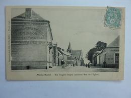80 Somme Mailly Maillet Rue Eugène Dupré (ancienne Rue De L'Eglise) - Other Municipalities