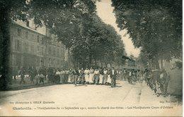 CHARLEVILLE. Manifestation Du 12 Septembre 1911 Contre La Cherté Des Vivres. Les Manifestants Cours D'Orléans - Charleville