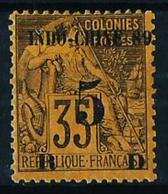 Indochina (Francesa) Nº 2 (sobrecarga) Nuevo* - Unused Stamps