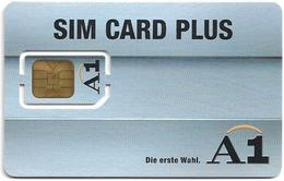 Austria - Mobilkom - A1  Sim Card Plus (Type#2), GSM SIM2 Mini, Mint - Austria