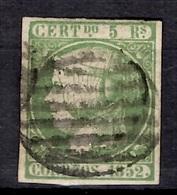 Espagne YT N° 15 Oblitéré. Premier Choix. A Saisir! - 1850-68 Royaume: Isabelle II