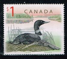 Kanada 1998,Michel# 1725 ** Canadian Fauna: Common Loon (Gavia Immer) - 1952-.... Reign Of Elizabeth II
