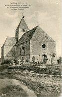 AUBONCOURT. Kirche Mit 5 Deutschen Heldengräbern Auf Dem Friedhofe - Francia
