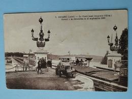 BRIARE  (Loiret) -- Camion Au Pont Canal - Péniches - ANIMATION - Trucks, Vans &  Lorries