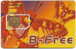 Austria - Mobilkom - B-Free, Butterfly (Type 1), GSM SIM2 Mini, Mint - Austria